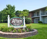 Community Signage, Allison Apartments