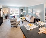 Arlington style living/dining room, Water View Village Apartments