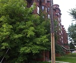 Olbiston Apartments, Notre Dame Elementary School, Utica, NY