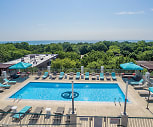 Pool, Evanston Place Apartments