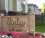 Sign, Finley Square