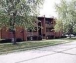 Exterior, Woodhill Apartments