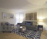 Living Room, 4000 Horizon Hill Apartments