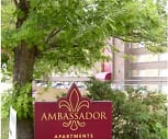 Ambassador Apartments, Wilkinsburg Senior High School, Wilkinsburg, PA