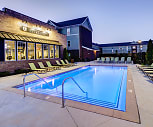 Pool, Lodges of East Lansing-Per Bed Lease
