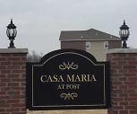 Community Signage, Casa Maria at Post