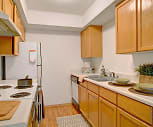 A kitchen with lots of counter space and cabinet storage, Lake Park