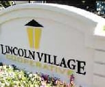 Signage, Lincoln Village Cooperative
