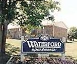 Entrance, Waterford Apartments