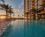 view of pool, ParkLine Miami
