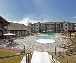 Pool, West Creek Apartments