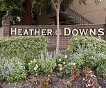Community Signage, Heather Downs Apartments