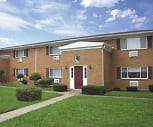 The New Colonial Village Apartments, Eastmoor Academy, Columbus, OH