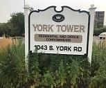 York Tower, 60106, IL
