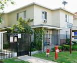 Whitsett Courtyard, North Hollywood, CA