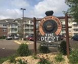 Depot at Elk River Station Apartments, Elk River Senior High School, Elk River, MN