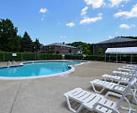 Pool, Meadow Lane Apartments