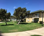 Central Plaza Apartments, Fesler (Isaac) Junior High School, Santa Maria, CA