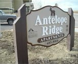 Sign, Antelope Ridge Apartments