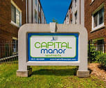 Capital Manor Apartments, Vivian Riddle Elementary School, Lansing, MI