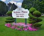 Community Signage, Melrose Place and Possum Park Apartments