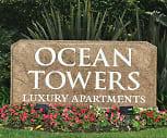 Huntington Beach Ocean Towers, Golden West College, CA