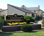 Community Signage, Cascade Apartments