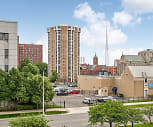 Cathedral Tower Apartments, Cass Corridor, Detroit, MI