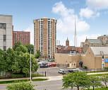 Cathedral Tower Apartments, Saint Antoine Street, Detroit, MI
