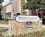Exterior/Sign, Pointe Royale