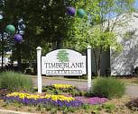 Community Signage, Timberlane Apartments