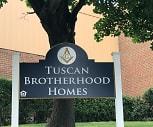 Tuscan Brotherhood Homes, Dr Frank T Simpson Waverly School, Hartford, CT
