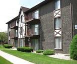 Crestline Villa Apartments, Chicago High School For Agricultural Sciences, Chicago, IL