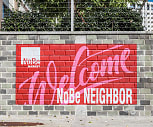 NoBe Market Apartments Neighborhood Sign, North Bethesda Market
