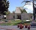 Front view, Park Villas