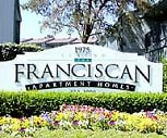 Property Sign, Franciscan Apartments