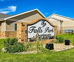Falls Park, Kings Casino, Sioux Falls, SD