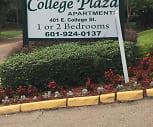 College Plaza Apts, Mississippi College, MS