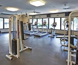 Fitness Weight Room, Oak Park