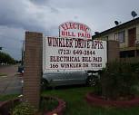 Winkler Drive, Hartman Middle School, Houston, TX