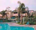 Pool Area, Plum Tree Apartments