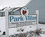 Sign, Park Villas and Townhomes