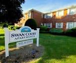 Exterior, Swan Court Apartments