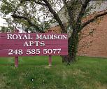 Royal Madison Apartments, 48083, MI