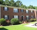 Brick exterior with beautiful landscaping, Wythe Creek