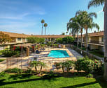 La Paz Apartments, Urbain H Plavan Elementary School, Fountain Valley, CA