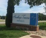 Hawkeye Towers Apartments, Orange Elementary School, Waterloo, IA