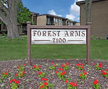 Community Signage, Forest Arms Apartments