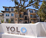 Community Signage, YOLO Apartment Homes