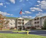 Building, Covington Woods